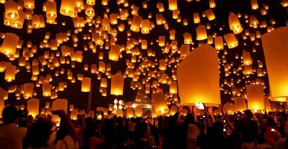 Pingxi Sky Lantern Festival, Taiwan (8th Feb 2020)