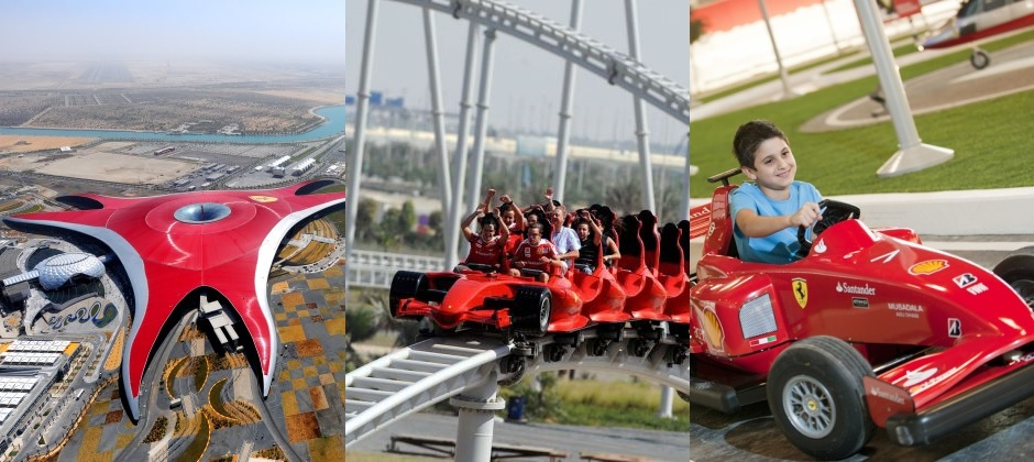 Dubai – Abu Dhabi (with Ferrari World)-Dubai