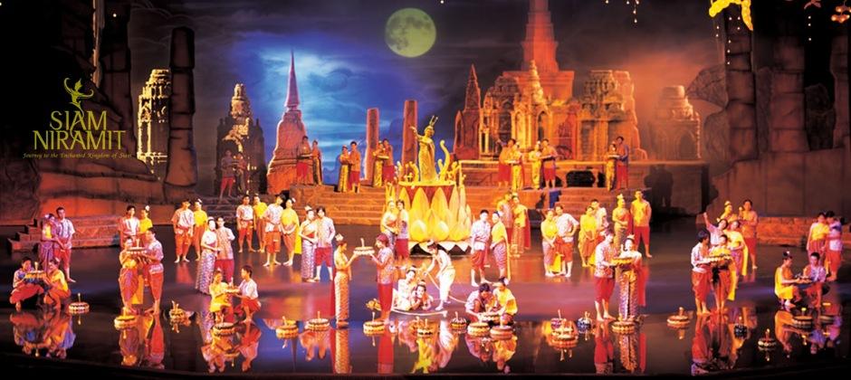 Arrive Bangkok: Siam Niramit Show