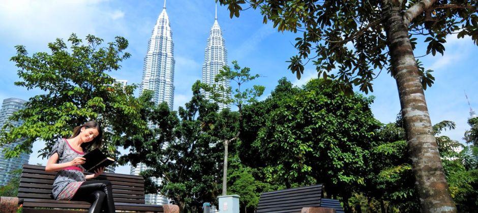 Arrive Kuala Lumpur