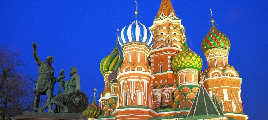 Moscow-Guided City Tour