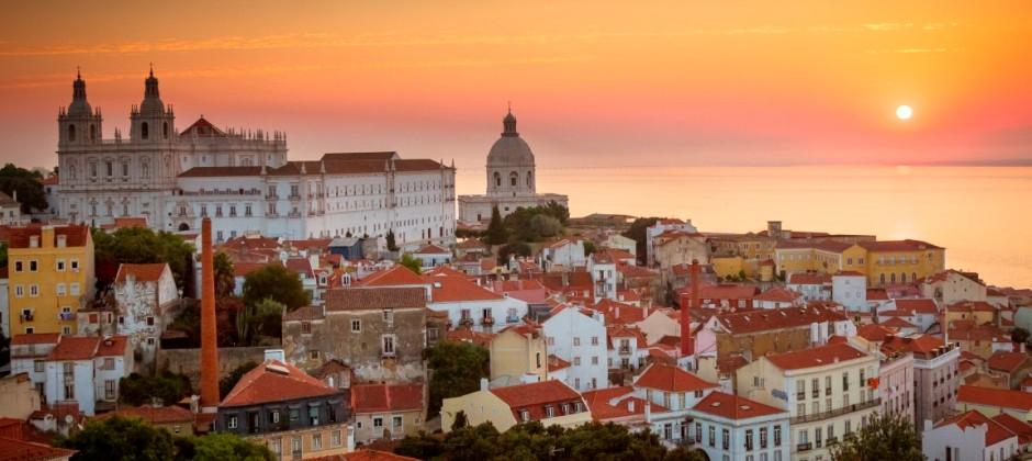 Arrive Lisbon