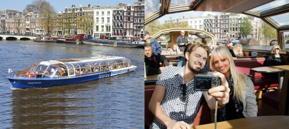 Amsterdam: Canal Sightseeing Cruise