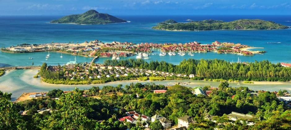 Arrive Seychelles