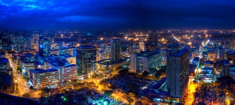 Arrive Nairobi