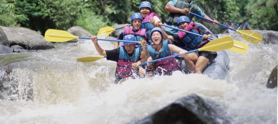 Seminayak – Ubud: White water rafting