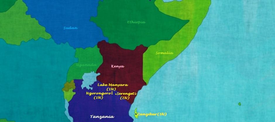 Tanzania with Zanzibar