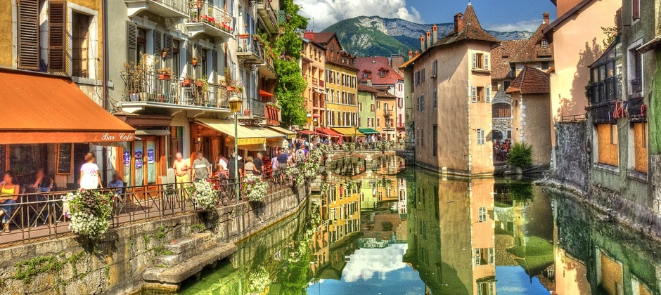 Lyon- Annecy: Guided Tour (1.30 hrs)