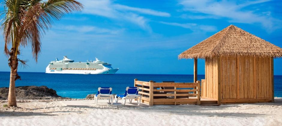 Arrive Cococay, Bahamas (08:00hrs)