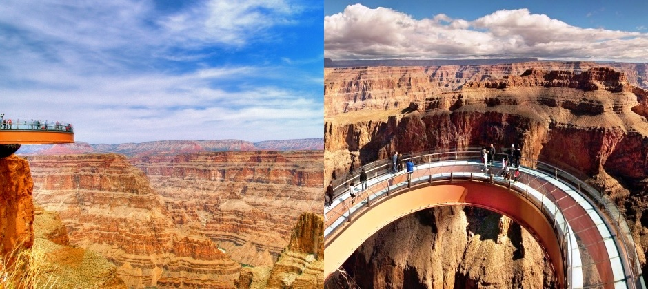 Las Vegas: Half Day Grand Canyon West Rim Air and Ground with Skywalk Tour