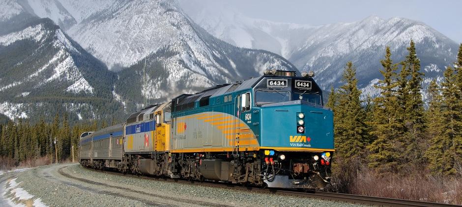 VIA Rail Jasper – Toronto