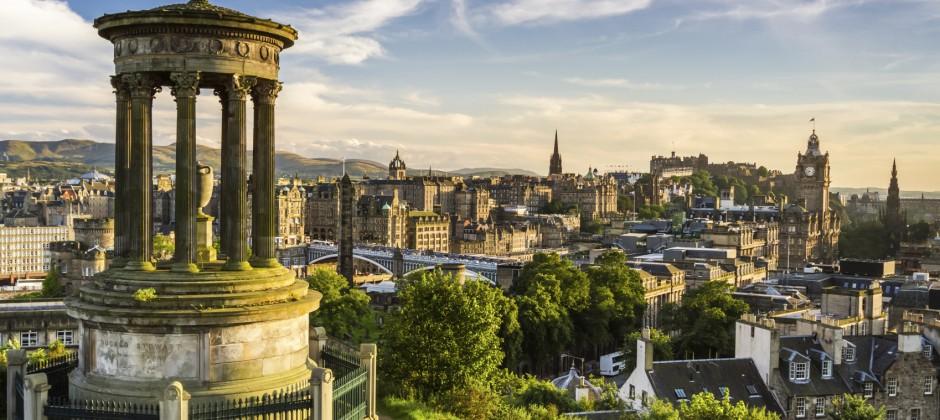 Cairngorms - Edinburgh via Highland Perthshire (driving time approx. 3 hours)