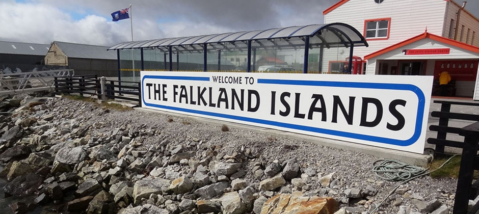 Arrive Port Stanley, Falkland Islands (08:00 Hrs)