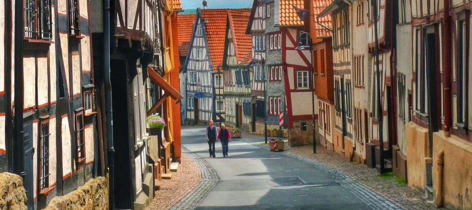 Romrod: Day trip to Hanau and Steinau an der Strasse