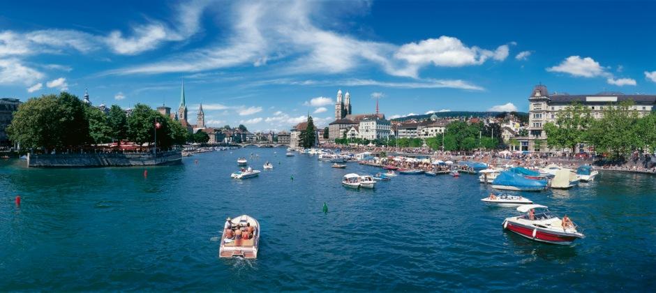 Arrival Zürich