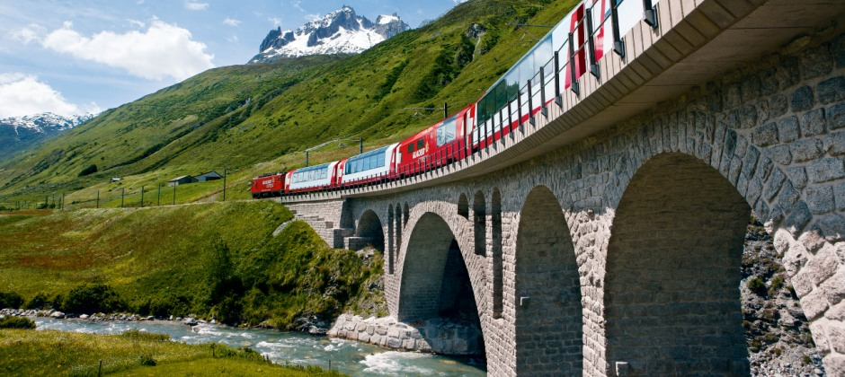 Zermatt – St. Moritz (Glacier Express)