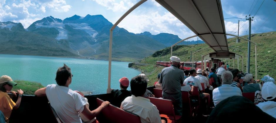St. Moritz – Lugano (Bernina Express)