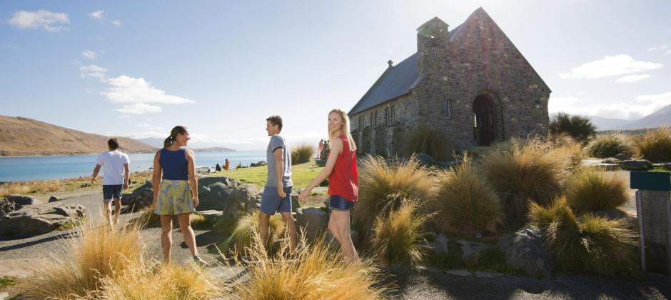 Christchurch – Lake Tekapo – Mt. Cook