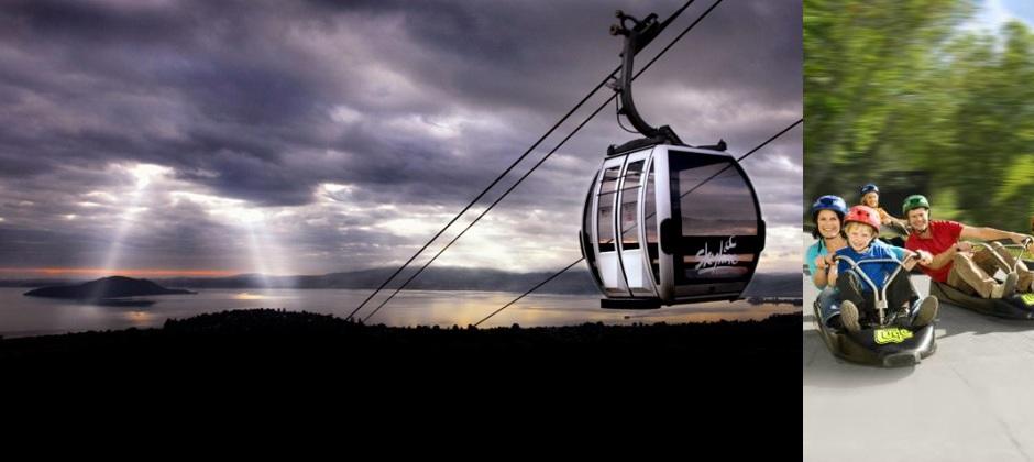 Auckland – Rotorua: Skyline Gondola & Luge ride