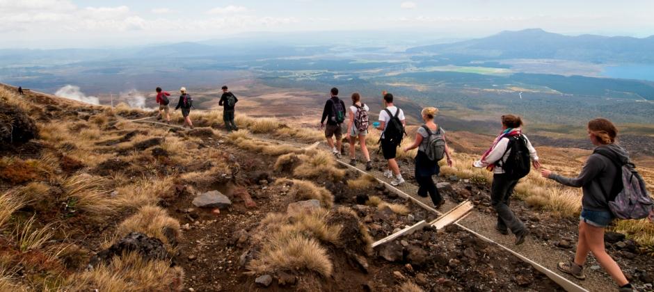 Tongariro National Park: Tongario Crossing Guided Walk