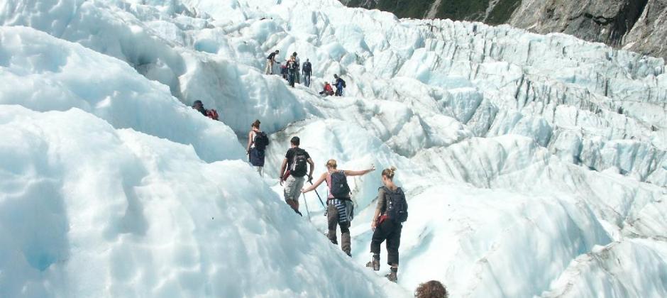 Glacier Region: Glacier Valley walk tour