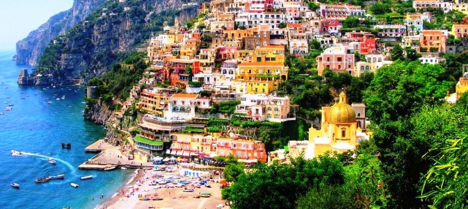 Naples- Day trip to Pompeii & Amalfi coast (8hrs)