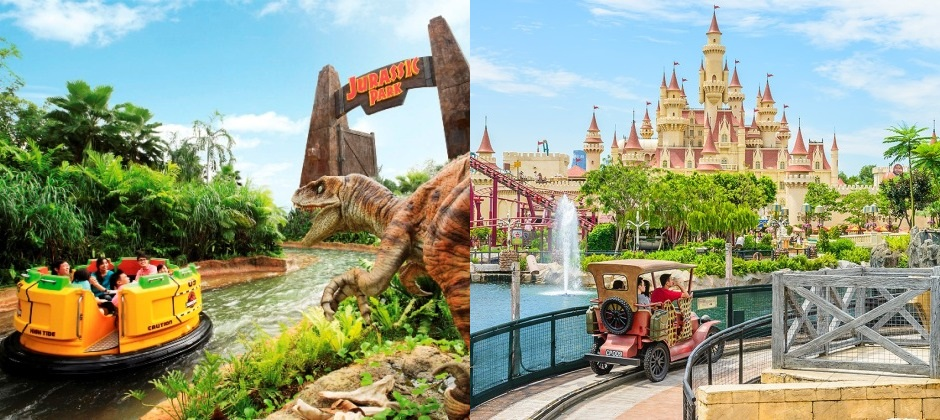 Singapore: Full Day Universal Studio