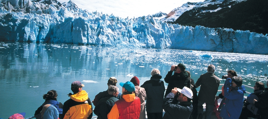 Seward :  Kenai Fjords National Park Cruise (6 Hours). Later , Seward – Anchorage  By Train (4 Hrs)