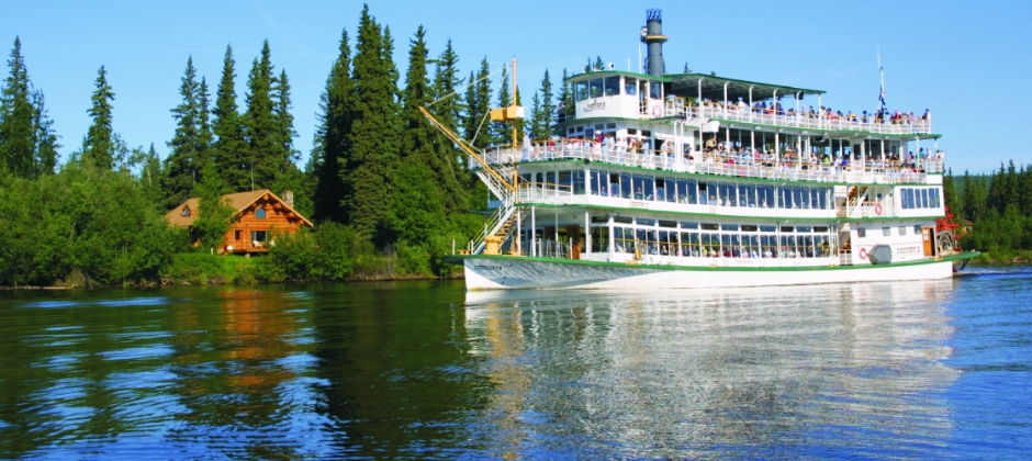 Fairbanks : Sightseeing Tour & Sternwheeler River Boat Tour