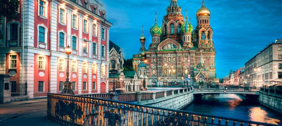 Depart St. Petersburg, Russia (18:00 Hrs)