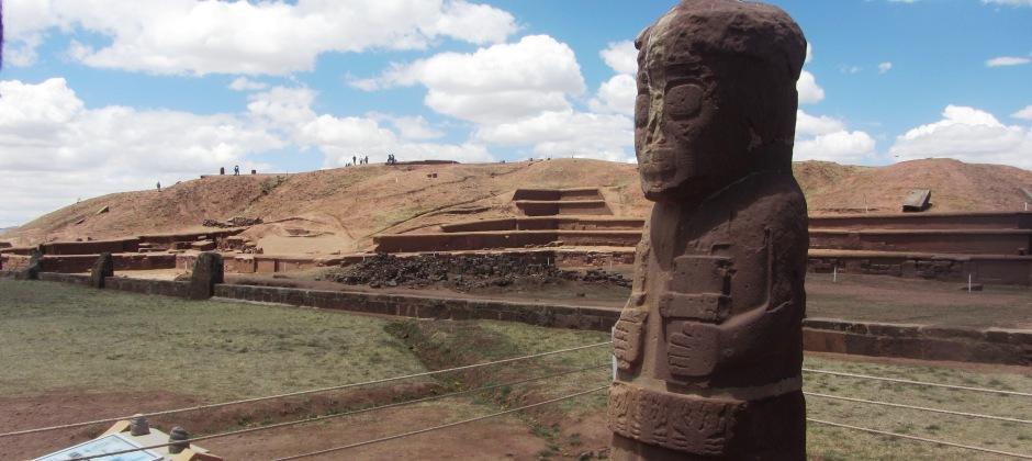 Colchani – Uyuni – La Paz | Half Day Visit to Tiwanaku Ruin