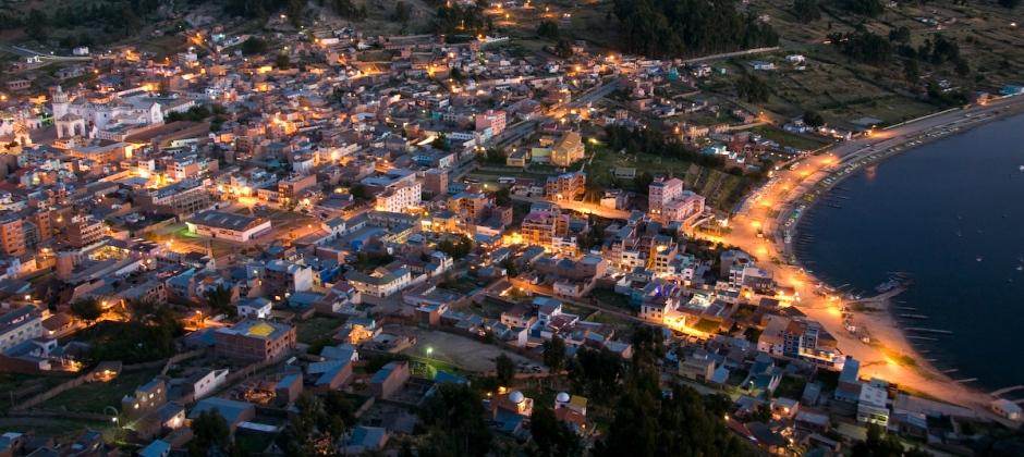Departure La Paz
