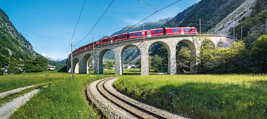 Chur | Excursion Bernina Express Tirano/St. Moritz