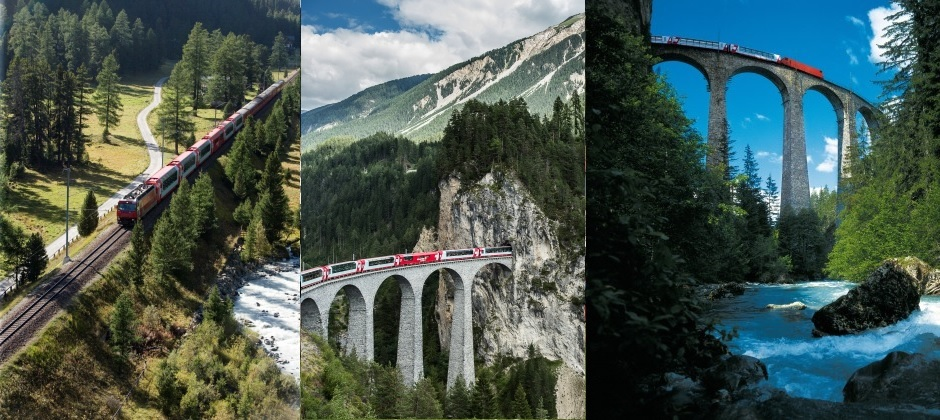 Chur – Brig | Glacier Express from Chur to Brig