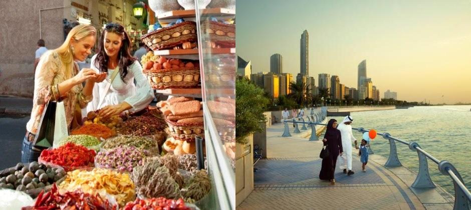 Depart Abu Dhabi