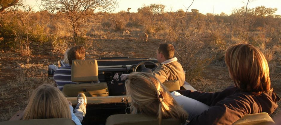 Rovos Rail | Game drive in Spionkop Reserve OR Spionkop battlefields tour | Game drive in the Nambiti Game Reserve
