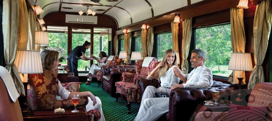 Pretoria – Rovos Rail – Mafikeng | On Board