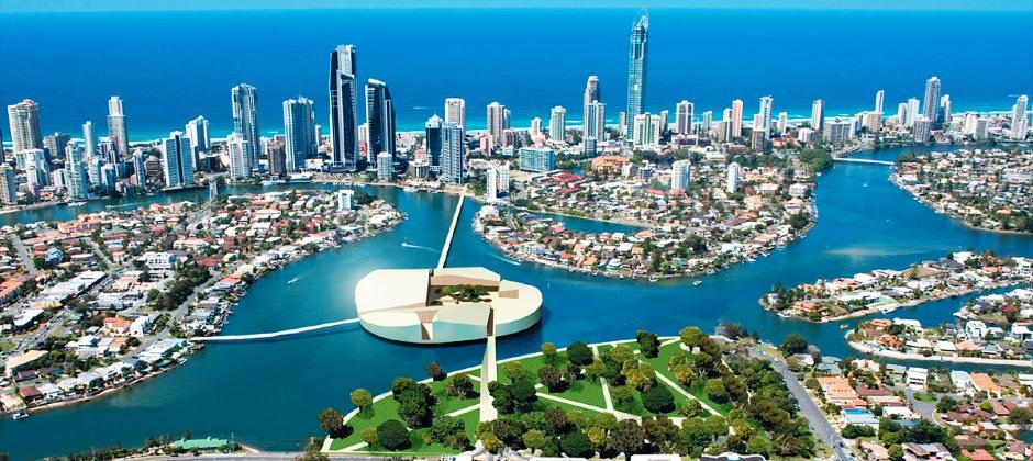 Arrive :  Gold Coast