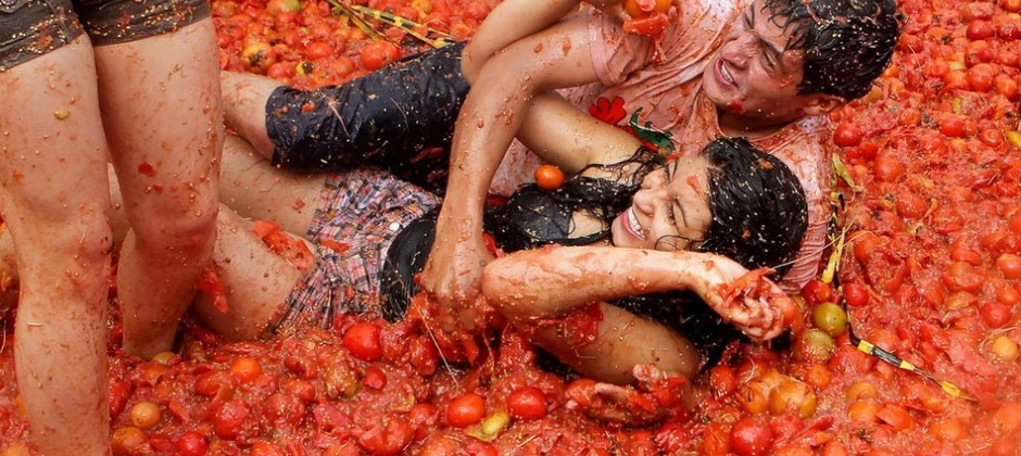 28 Aug: Valencia | Full day excursion to Tomatina