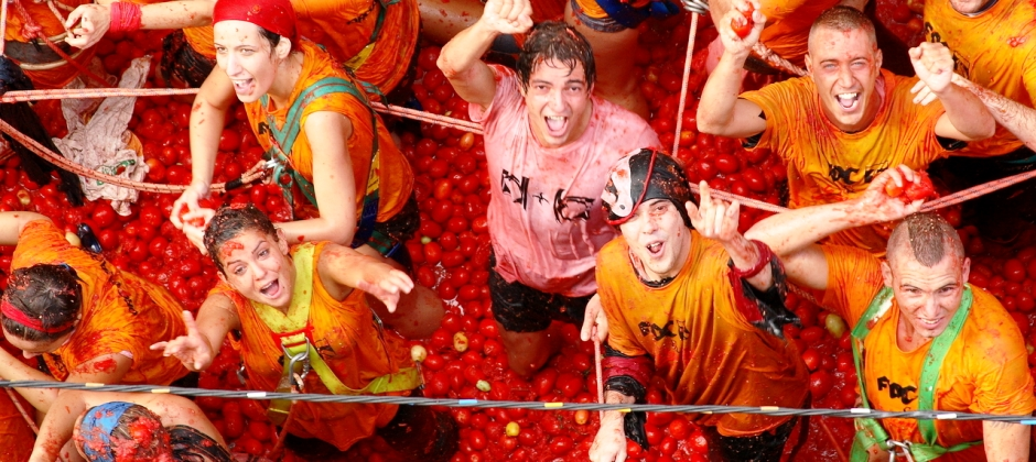 29 Aug: Valencia |  Full day excursion to Tomatina