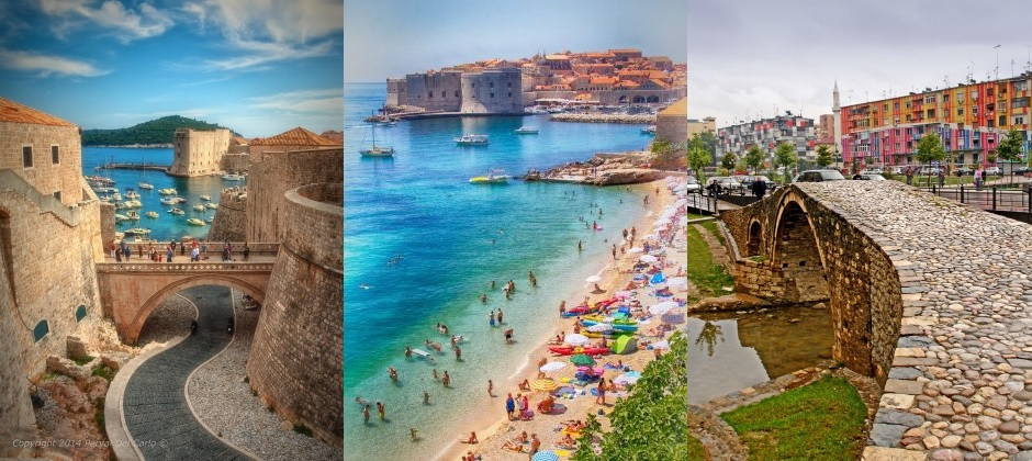 Dubrovnik (Croatia) – Budva (Montenegro) – Shkodra (Albania) – Tirana (Albania)