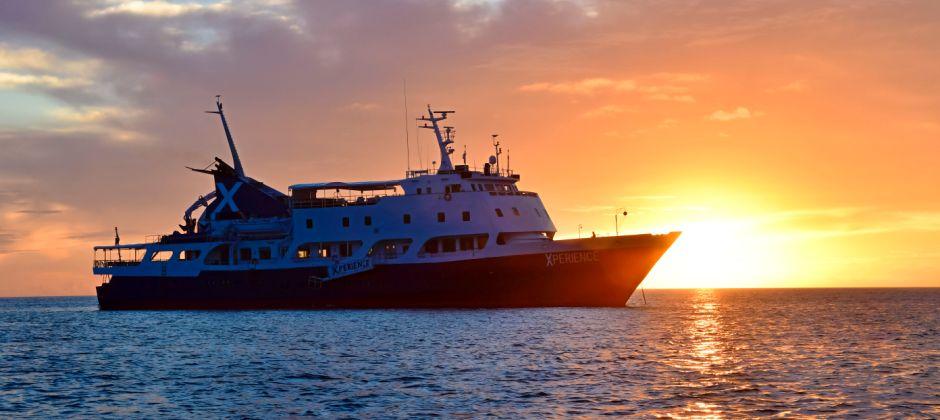 Arrive Baltra, Galapagos (14:30hrs) - Daphne Island, Galapagos (05:00hrs)
