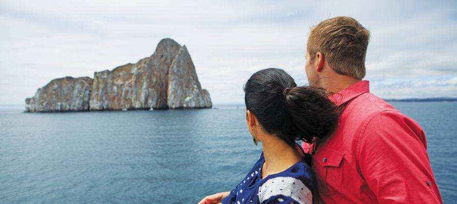 Arrive Sullivan Bay, Santiago (07:00 Hrs) - Bartolome, Galapagos (13:00 Hrs)