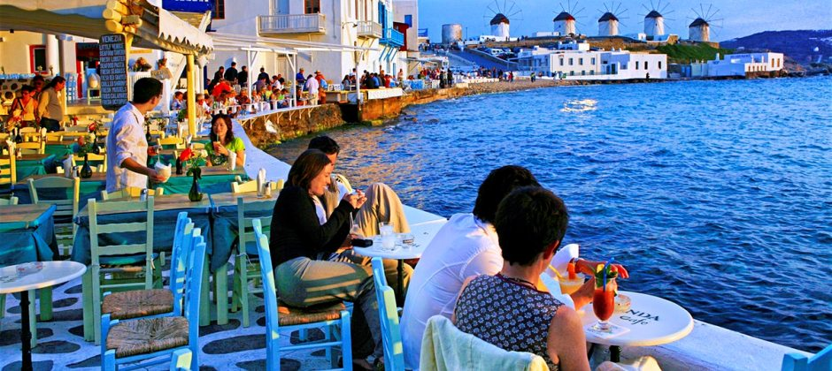 Athens- Mykonos - Athens (Piraeus)