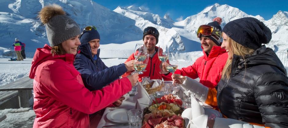 St Moritz: Skiing