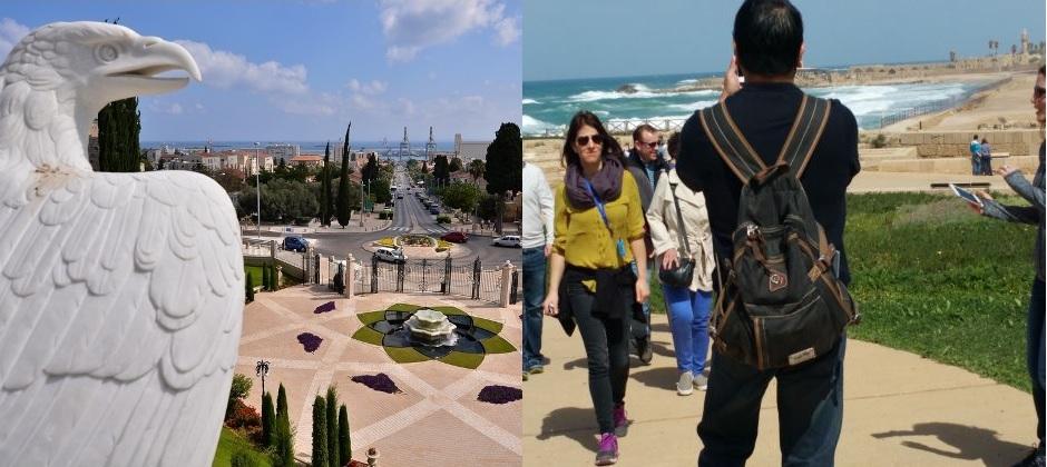 Tel Aviv- Sightseeing -Caesarea /Megiddo/ Druze Village/Haifa