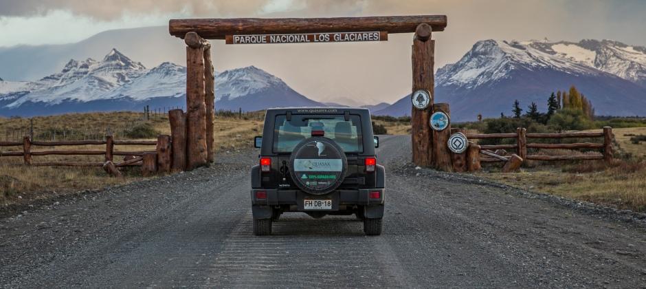 Argentina: Drive Across Border / El Calafate & Museum