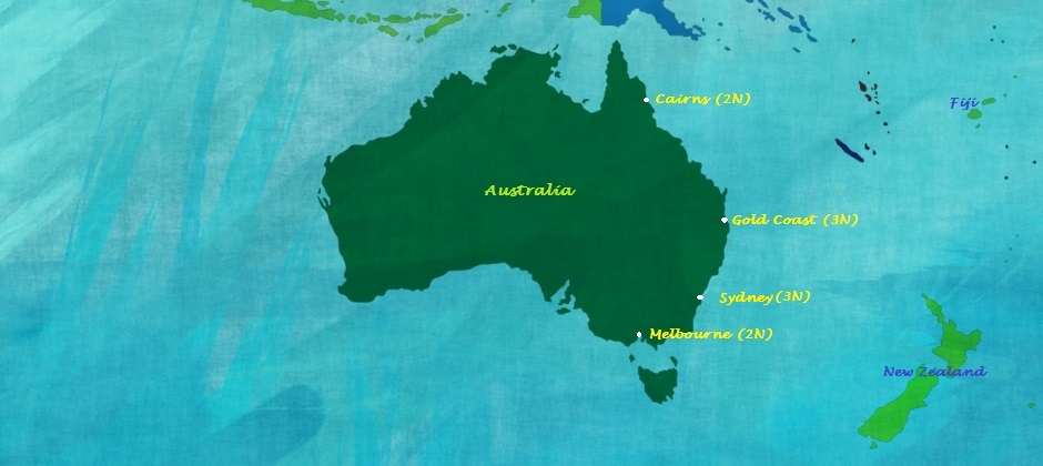 Australia's Funtastic Four (Lite)
