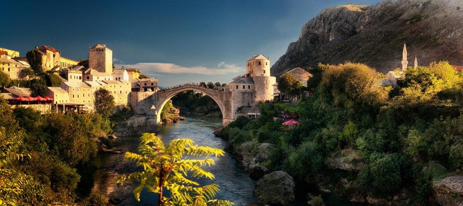 Bihac – Drvar (80 Km) – Mostar (225 Km)