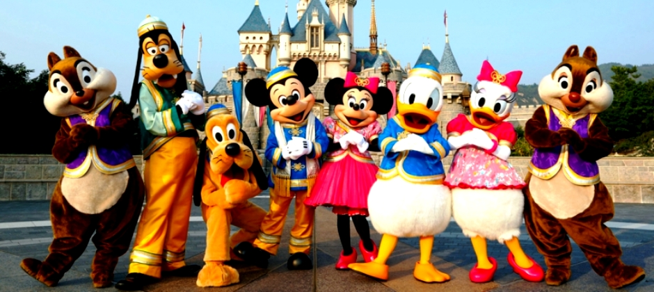 Paris | Disneyland theme park